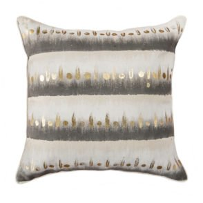 Gold Painted Teenah Cushion