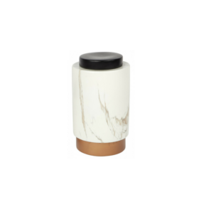 Motley Marbled Storage Jar