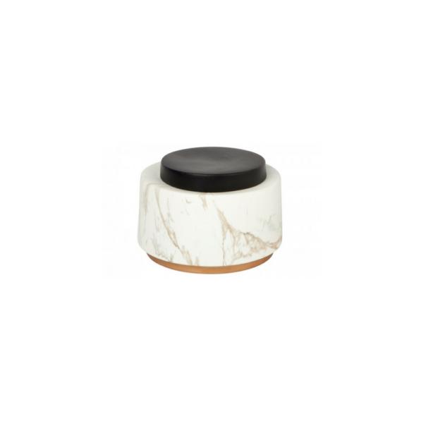 Motley Marbled Storage Jar