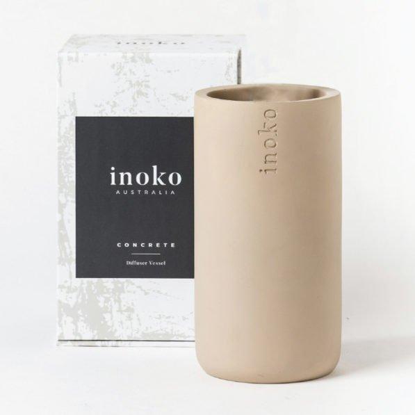 Inoko Diffuser Vessel - Concrete