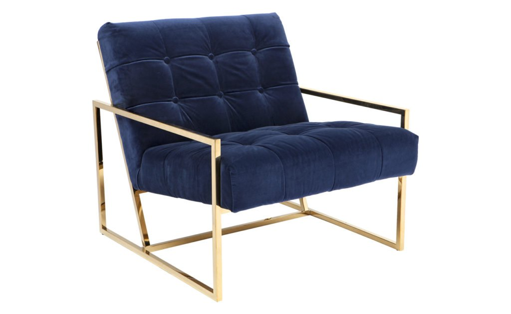 Hollywood Armchair - Navy