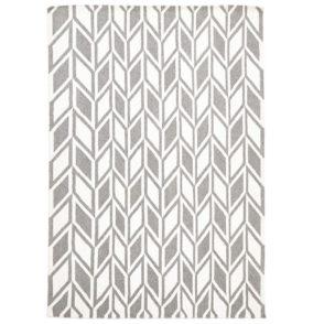 Aria Modern Weave Rug - Grey