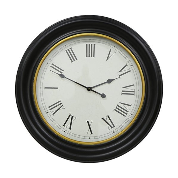 Black Gold Inner Rim Clock