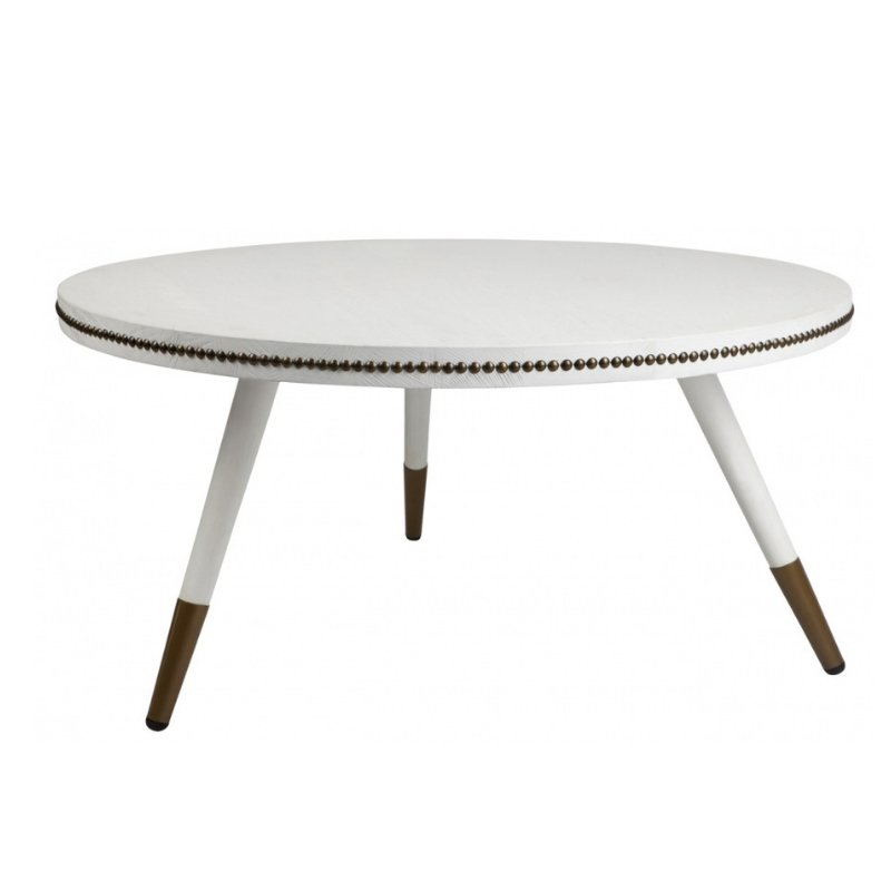 Danish Coffee Table White
